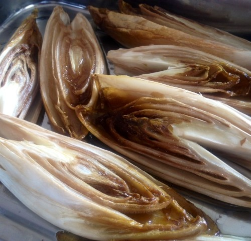 Maple Roasted Endive
