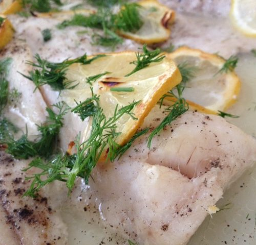 Norwegian Lemon Cod Fish