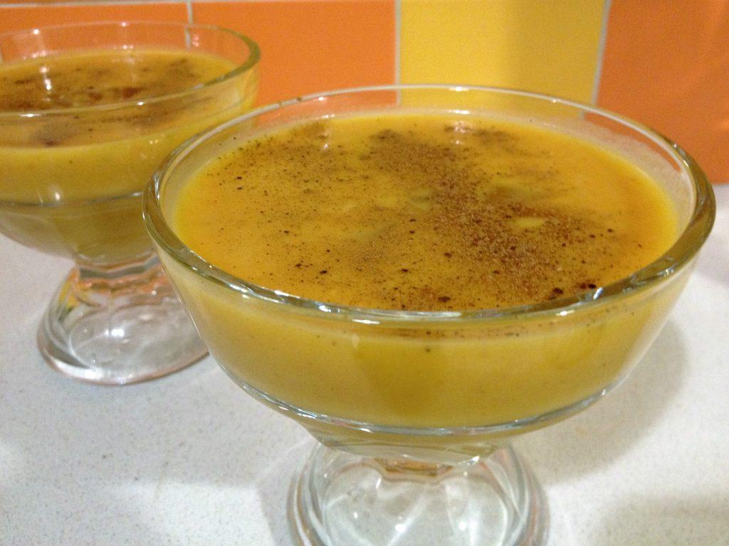 Creamy Chilled Pumpkin Soup