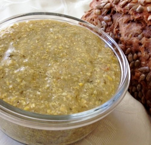 Authentic Yemenite Chilbeh (Hilbeh) - Fenugreek Dip