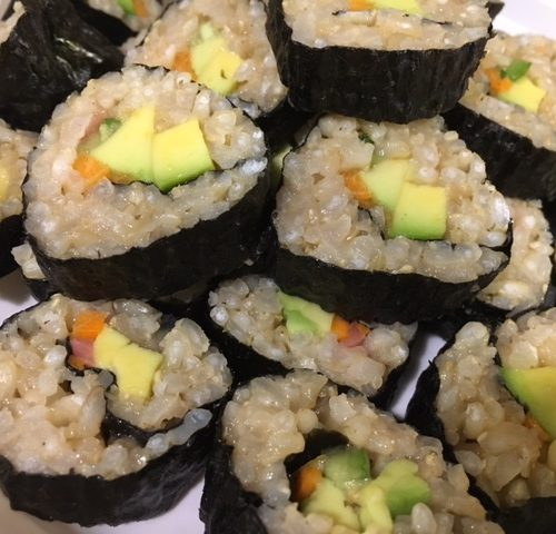 Brown Rice for Sushi