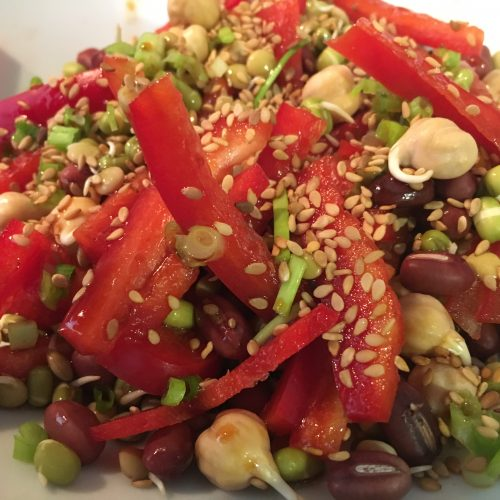 Crunchy Sprout Salad
